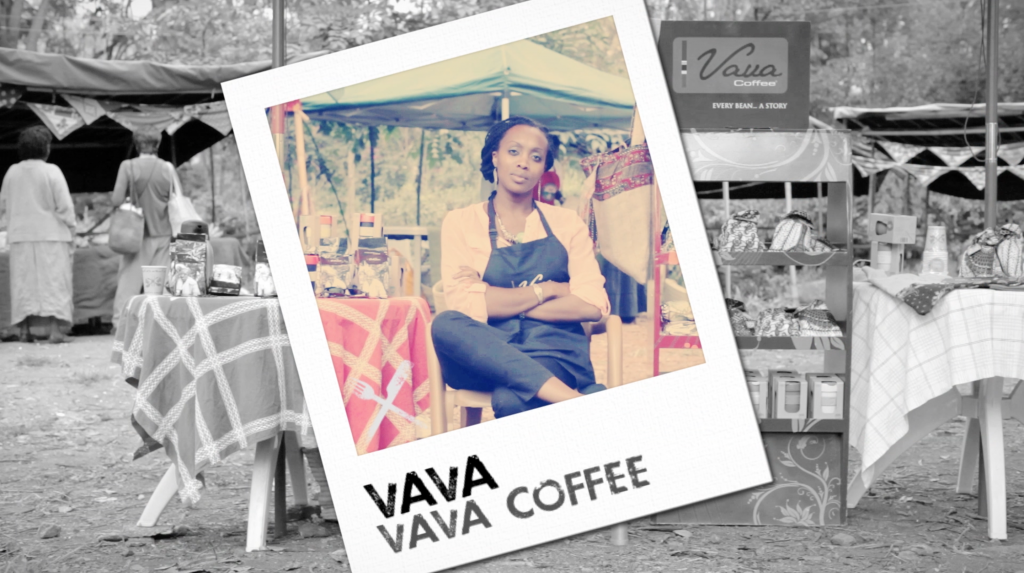 Vava Angwengi - founder of VAVA Coffee