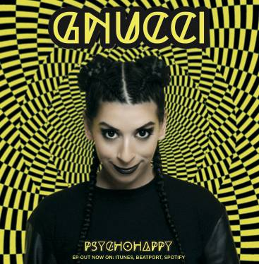 The cover of EP Psychohappy