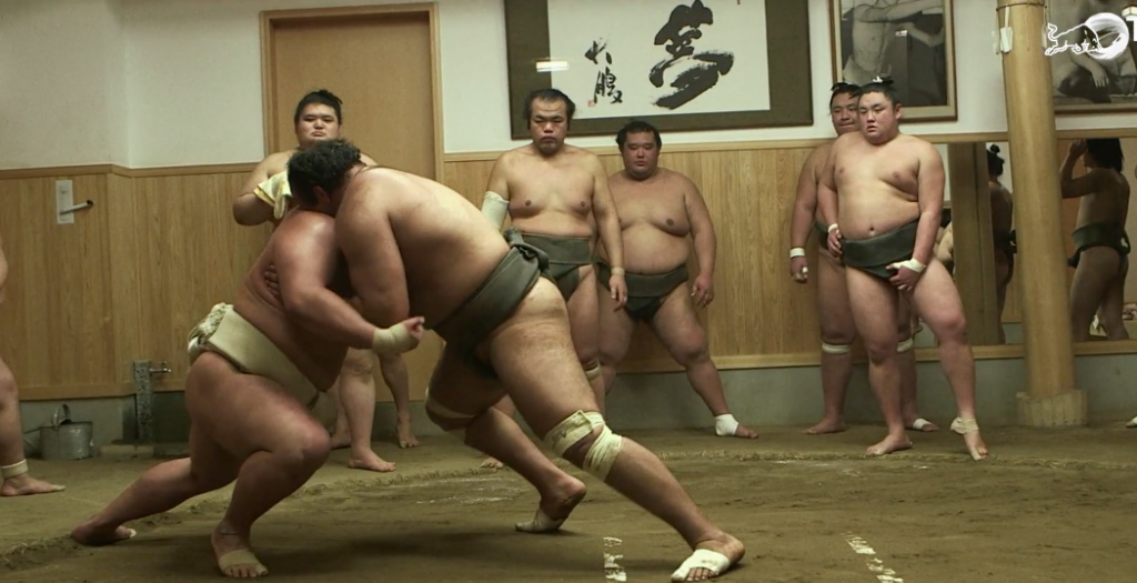 Becoming Sumo: ScreenShot (Directed by Salazar)