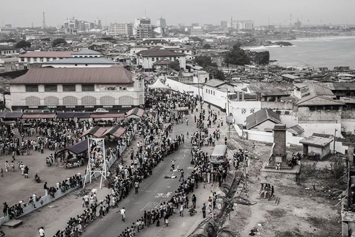 Photography © Oualid Khelifi 2014 - James Town-Accra/Ghana
