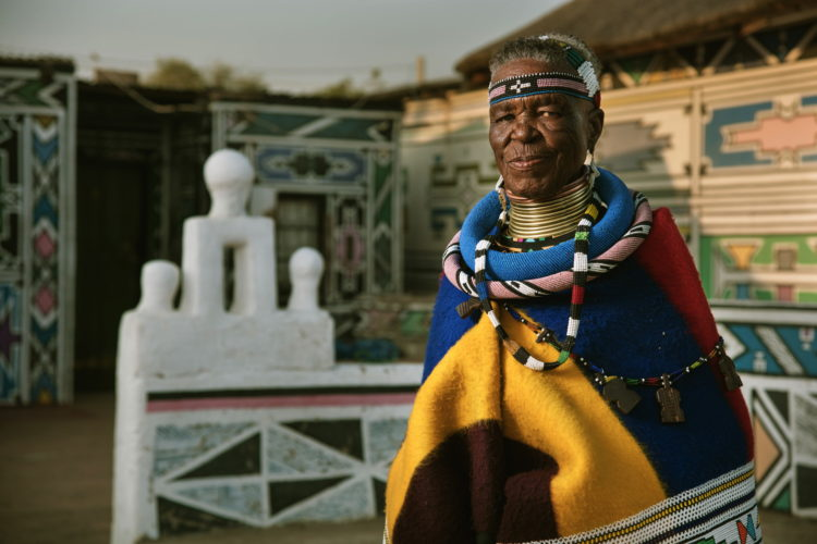 Esther Mahlangu, All images Copyright © 2016 BMW Group